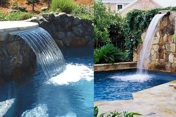 Accesorios para transformar tu alberca for Accesorios para piscinas cascadas