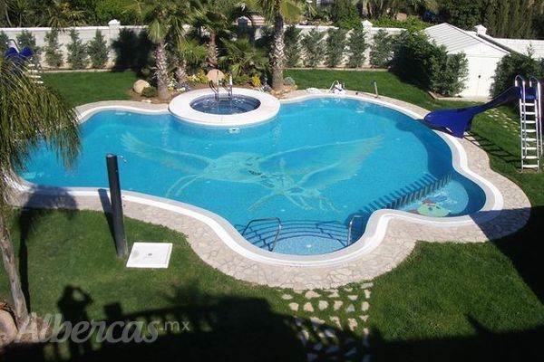 Tipos de albercas - Tipo de piscinas ...