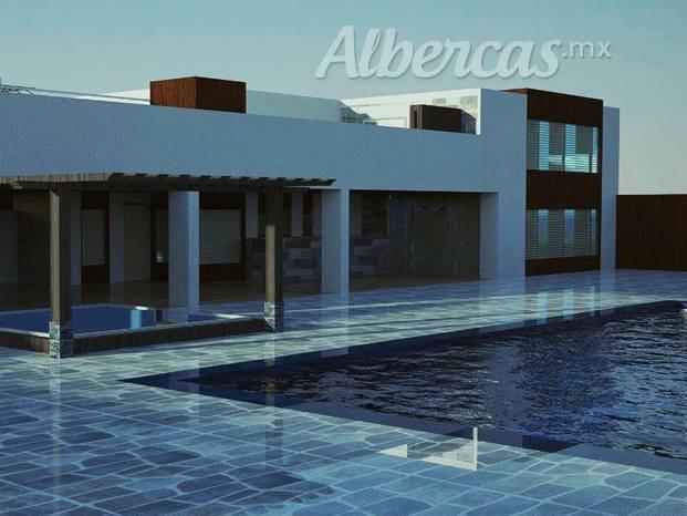 Cadcom arquitectos de monterrey for Accesorios para albercas monterrey
