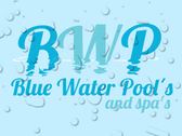 Logo Blue Water Pools Querétaro