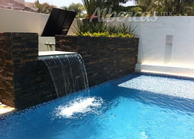 Fl arquitectos for Piletas con cascadas