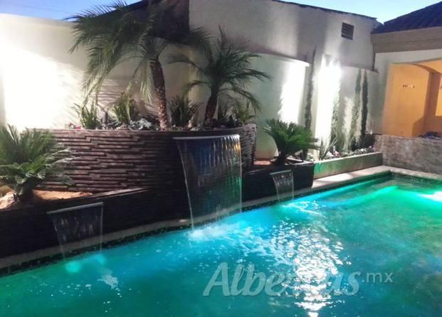 Conlop albercas y construcciones for Disenos de cascadas para piscinas
