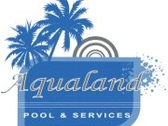 Logo Aqualand Pools (Puerto Vallarta)