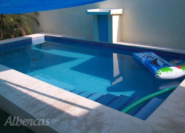 Im genes de palapas y piscinas beltr n for Construccion de piscinas en mexico